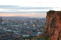 Sunset on Salisbury Crags, Laura Anderson
