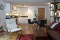 Albany Lane Edinburgh holiday home - Living Room / Kitchen / Diner