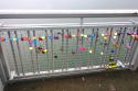 LoveLocks on the Forth Road Bridge