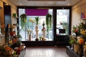Banks florists interior - Valentine's Day in Edinburgh