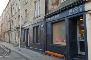 Considerit facade (2) - Valentine's Day in Edinburgh