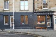 Considerit facade - Valentine's Day in Edinburgh