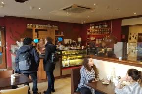 Coro cafe - Valentine's Day in Edinburgh