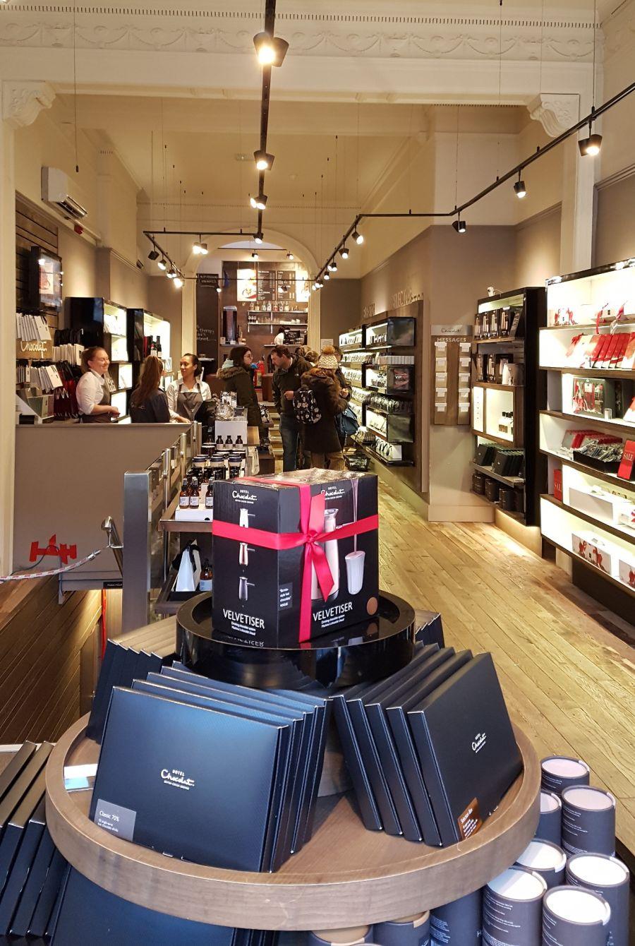 Hotel Chocolat boutique - Valentine's Day in Edinburgh