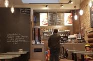 Hotel Chocolat cafe - Valentine's Day in Edinburgh