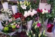 Lorraine Graham Flowers display - Valentine's Day in Edinburgh