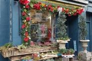 Lorraine Graham Flowers facade - Valentine's Day in Edinburgh