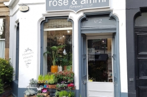 Rose Ammi facade - Valentine's Day in Edinburgh