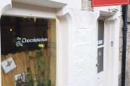 The Chocolatarium facade (2) - Valentine's Day in Edinburgh