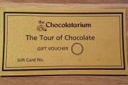 The Chocolatarium gift voucher