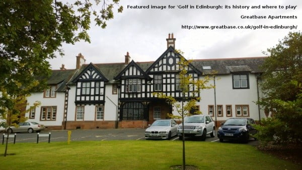 Royal Burgess Golfing Society clubhouse