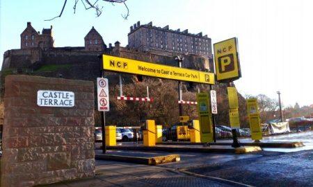 Castle Terrace Car Park (side view)