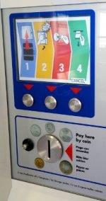 Edinburgh Bus Station locker read-out