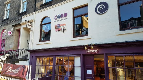 Coro The Chocolate Cafe Edinburgh - Valentine's Day in Edinburgh