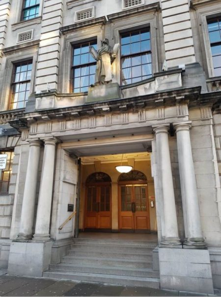Edinburgh Freemasons Hall facade