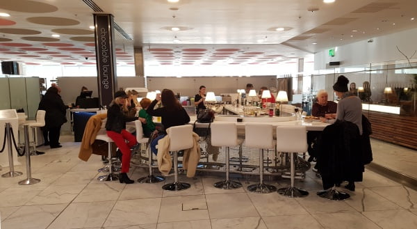 The Chocolate Lounge in Harvey Nichols, Multrees Walk - Valentine's Day in Edinburgh