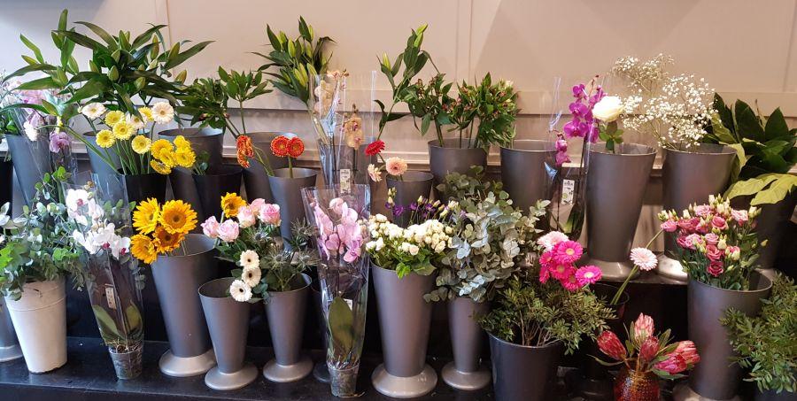 Banks Florists Edinburgh display