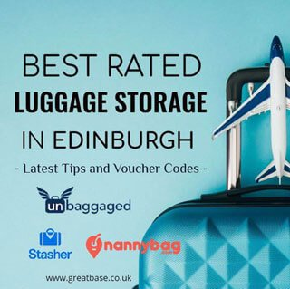 Where To Left Luggage In Edinburgh - Best-rated Storage And Voucher Code