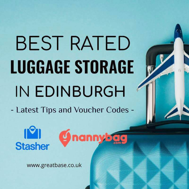Left Luggage In Edinburgh -Best-rated Storage And Voucher Code