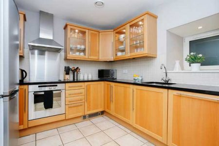Kitchen - holiday lettings Edinburgh