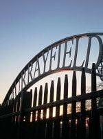 BT Murrayfield Stadium sign